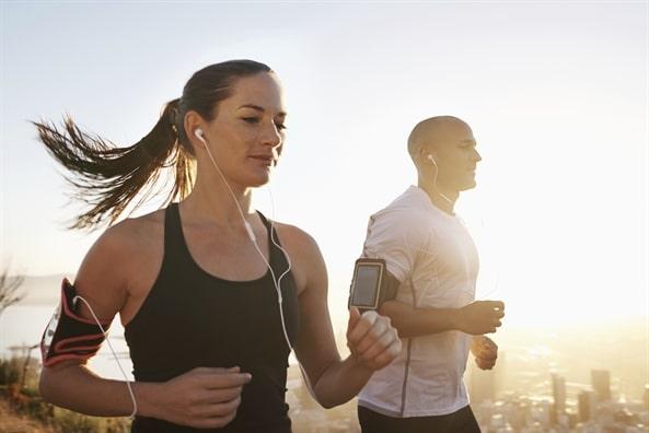 lợi ích của việc nghe nhạc và chạy